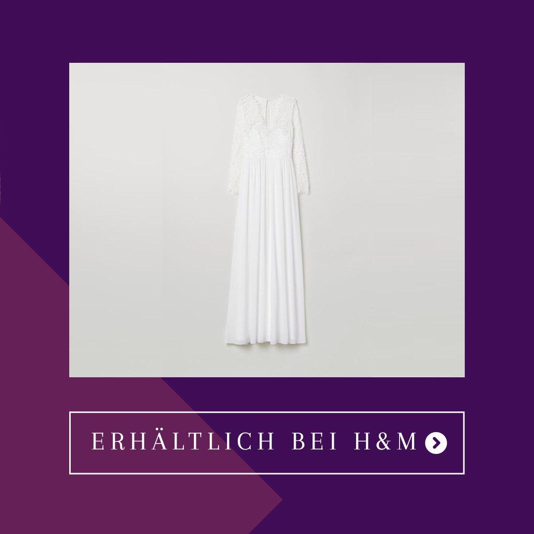 H&M Brautkleid aus Spitze