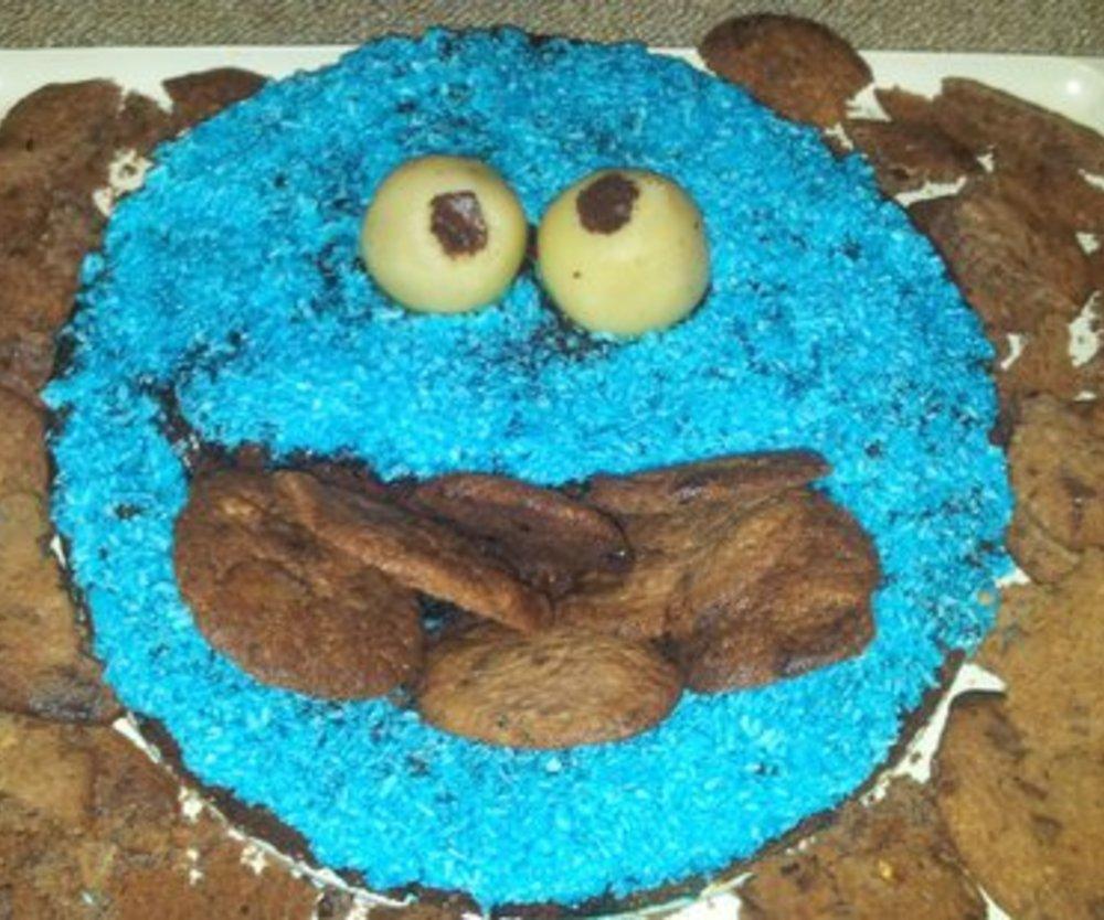 Cookiemonster Kuchen