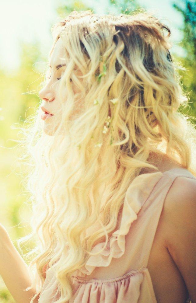 Romantische Frisuren