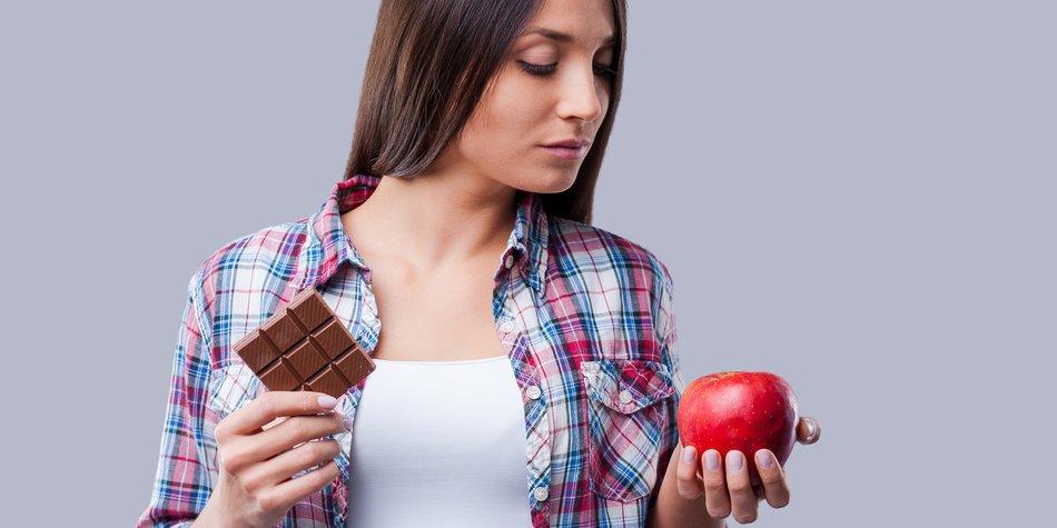Schokoriegel oder gesunde Alternative? Die 25 Sekunden-Regel hilft