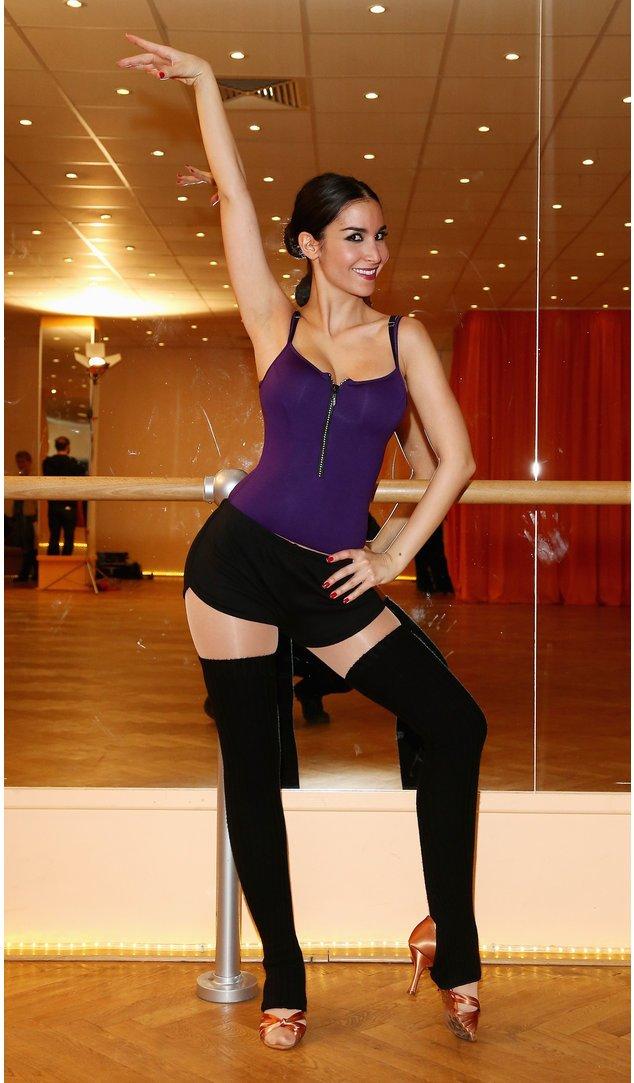 Sila Sahin beim Tanztraining