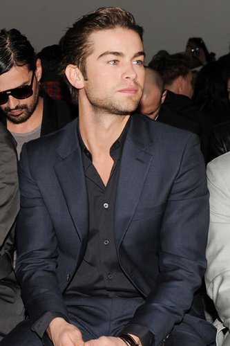 Chace Crawford: Fashion Week