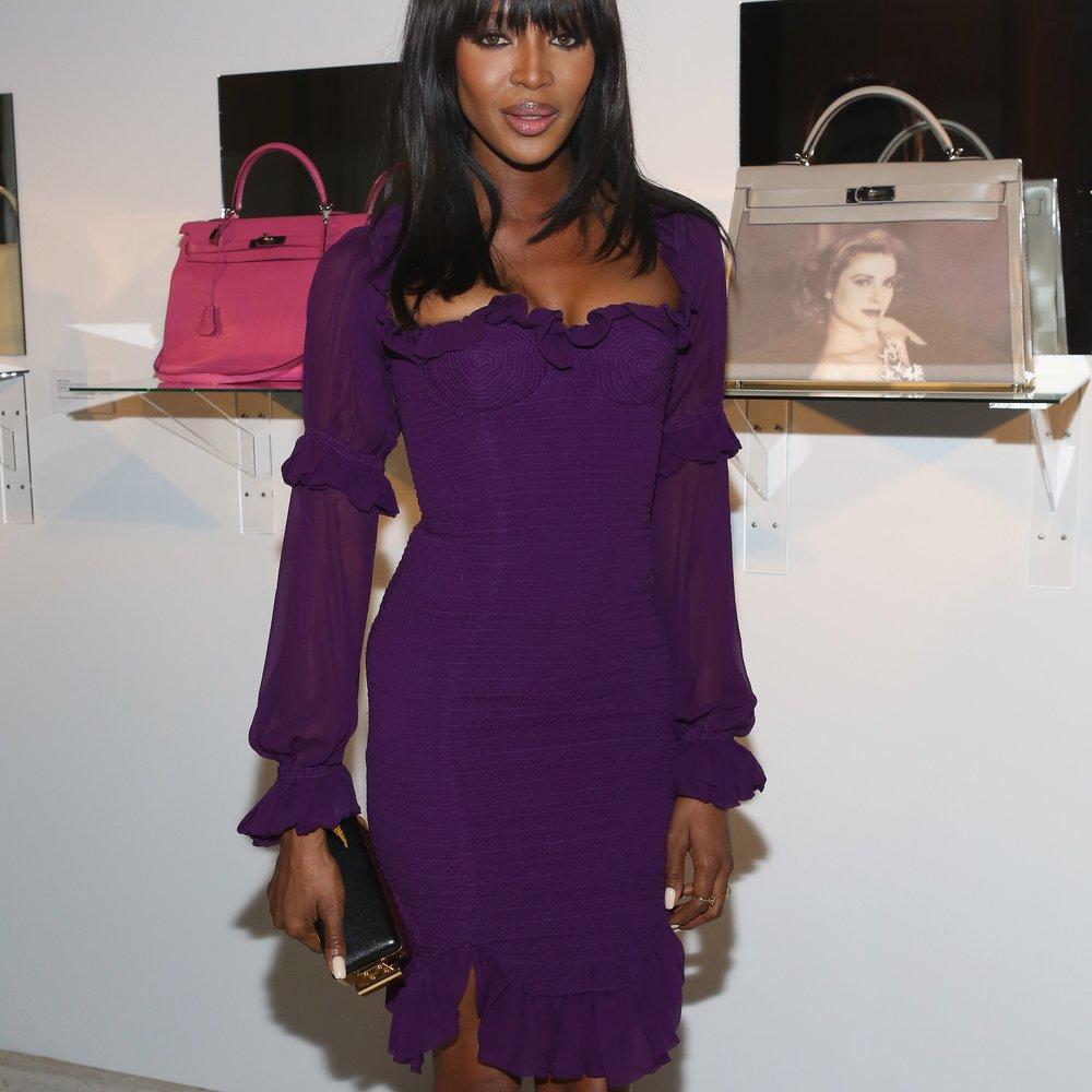Naomi Campbell versteigert Tasche für 175.000 Dollar