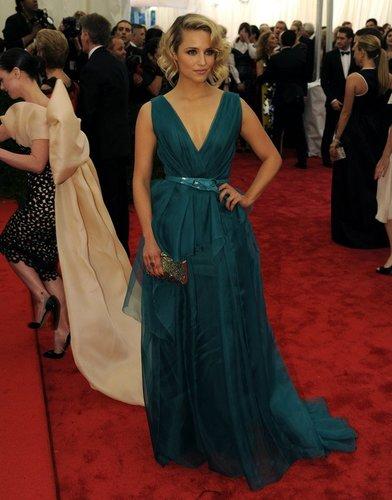 Dianna Agron auf dem Red Carpet.