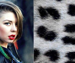leopardenprint haare