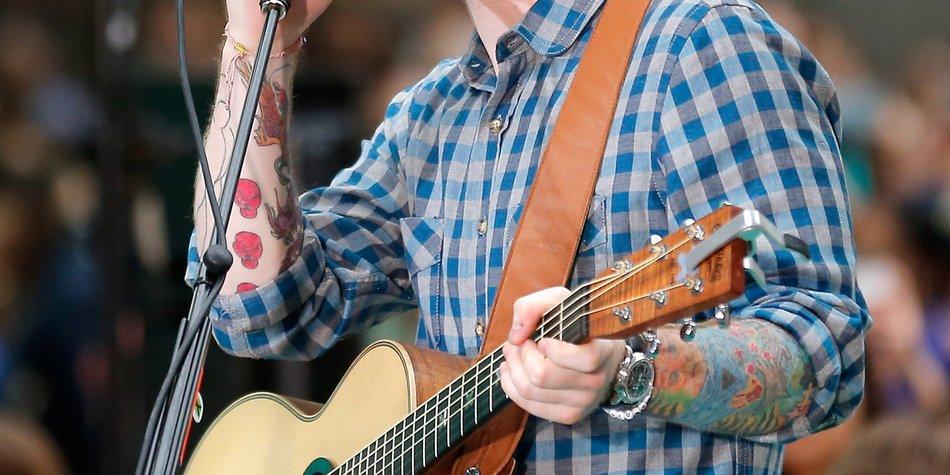 "Ed Sheeran: Nr. 1 bei ""Black Music Ranking"""