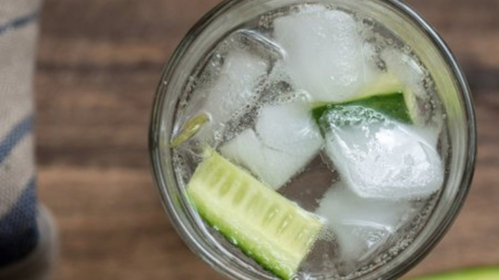 Gin Tonic mit Gurke