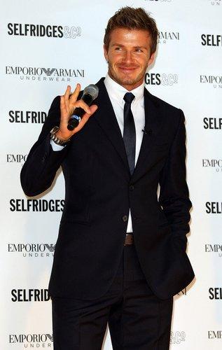 David Beckham - Das Model