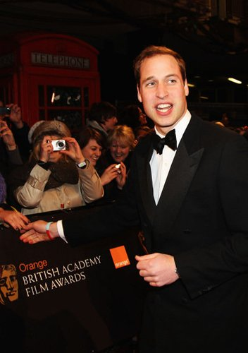 Prinz William ist der zukünftige König von England