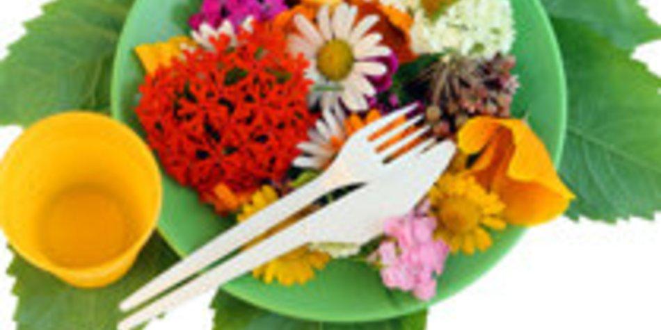 Blumen Diät: Machen Blumen satt?
