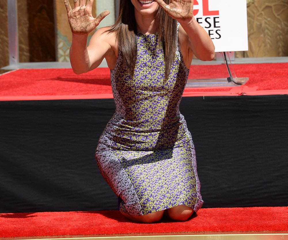 Sandra Bullock verewigt sich in Hollywood