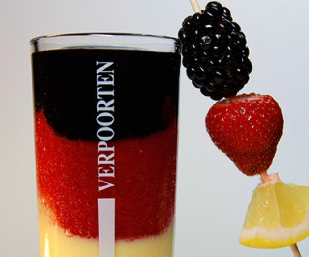 VERPOORTEN Länder-Cocktail Deutschland 'Schwarz Rot Gold'