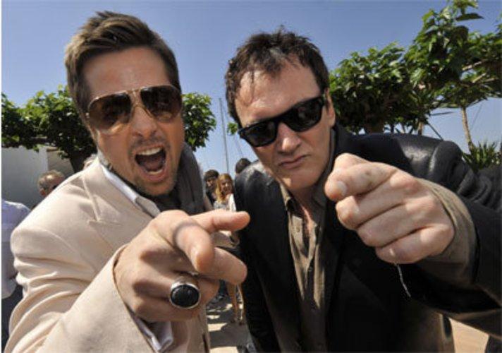 Brad Pitt und Quentin Tarantino präsentieren Inglourious Basterds