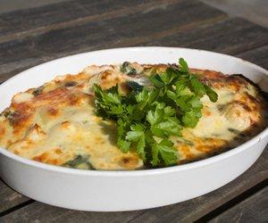 Lasagne mit Lachs