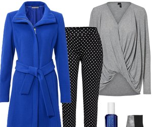 Outfit des Tages: Stylisch in Blau