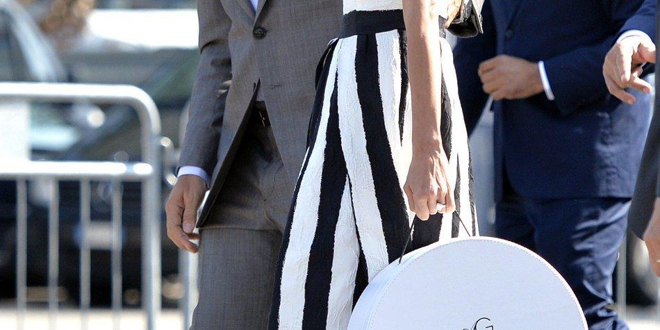 George Clooney und Amal Alamuddin zeigen sich als verheiratetes Paar