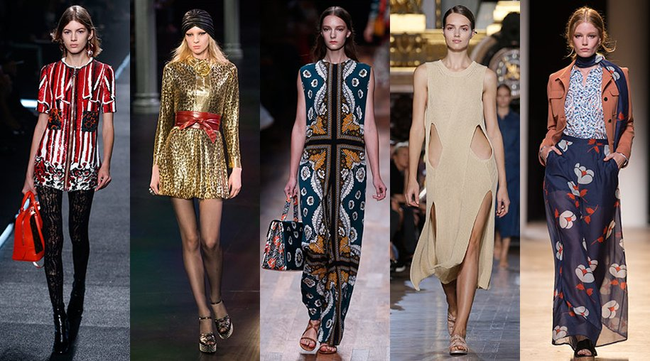 Valentino, Saint Laurent, Louis Vuitton, Paul & Joe und Stella McCartney