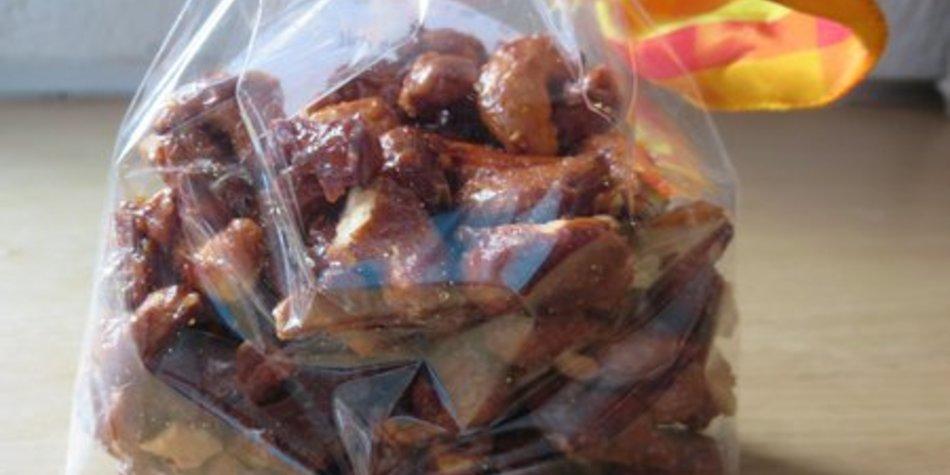 Gebrannte Honig-Senf-Nüsse