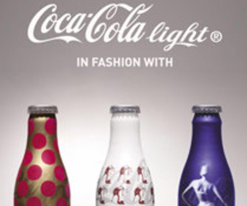 Designer-Flasche von Coca Cola