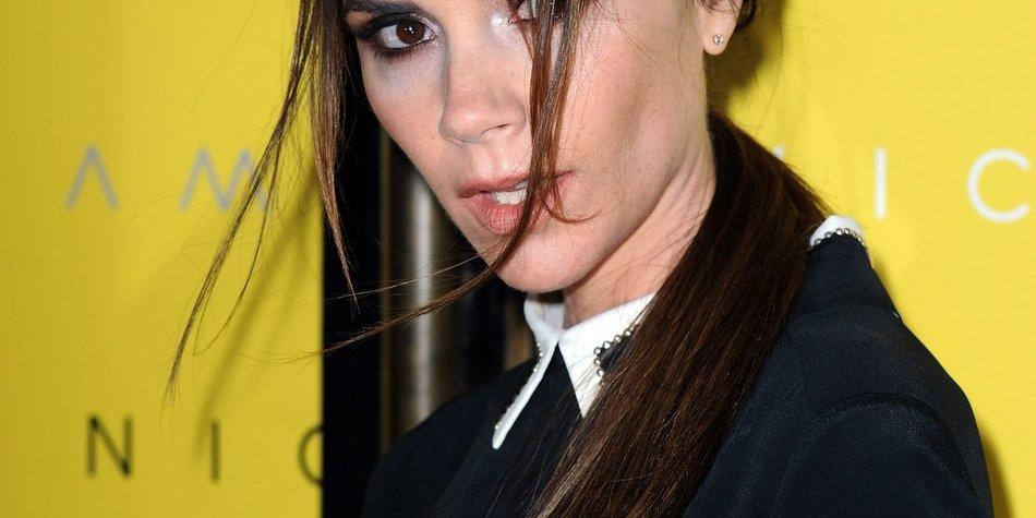 Victoria Beckham ist schwer im Stress