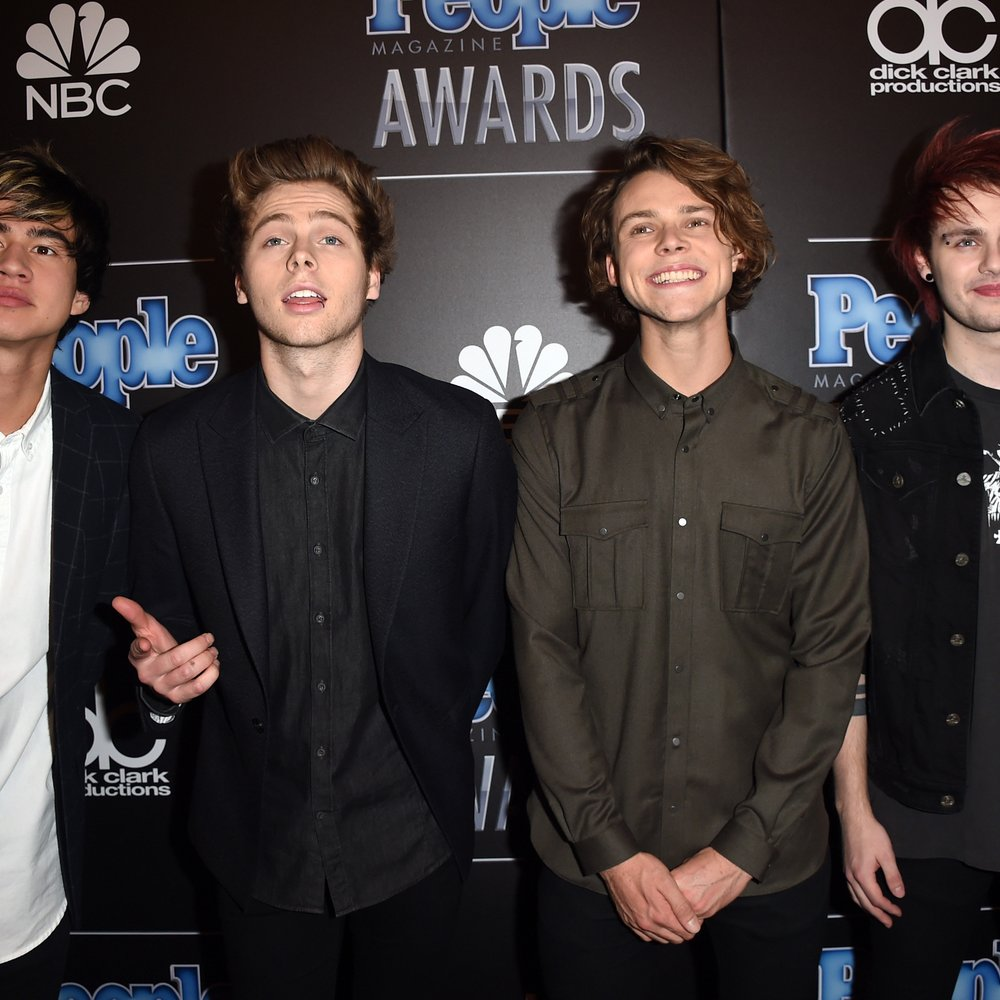 5 Seconds of Summer lassen gerne die Hüllen fallen