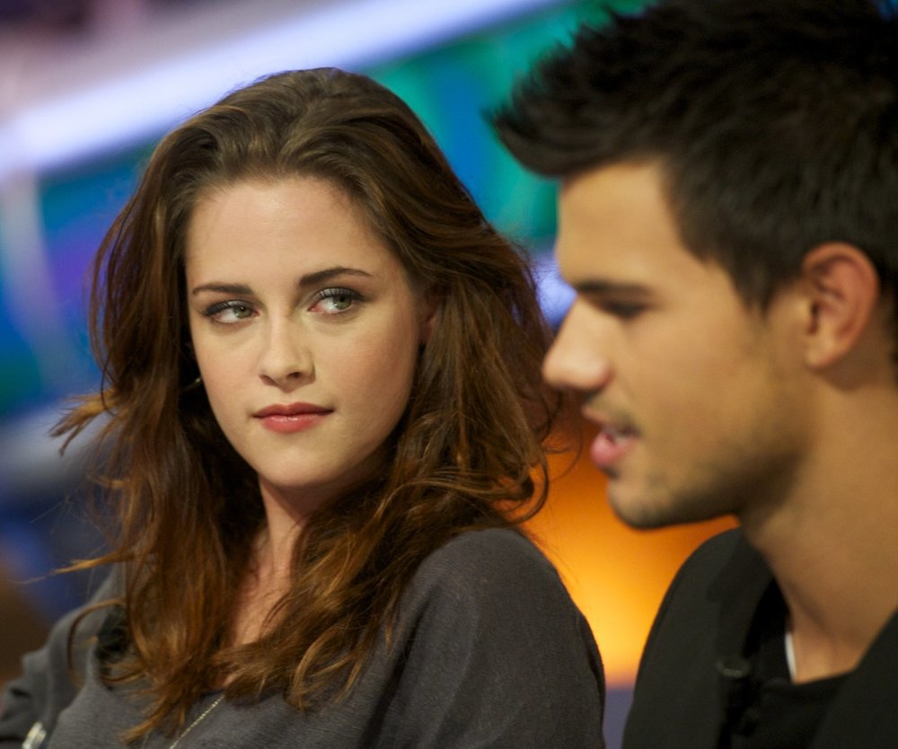 Taylor Lautner feiert mit Kristen Stewart