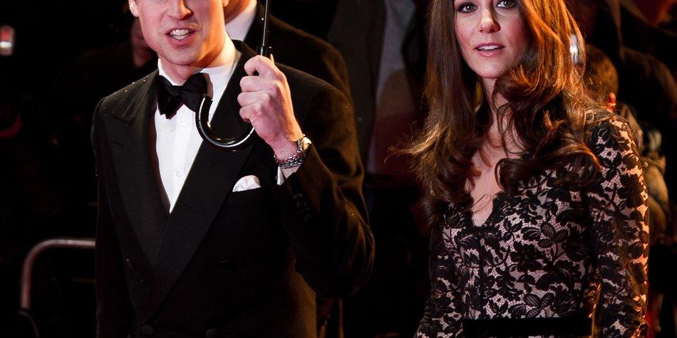 Kate Middleton und Prinz William sind in New York