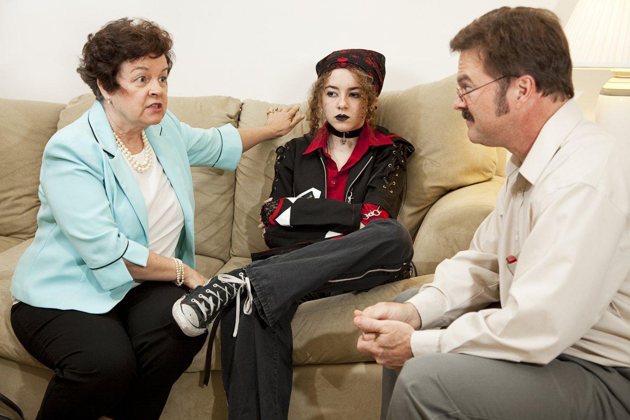 strenge Eltern