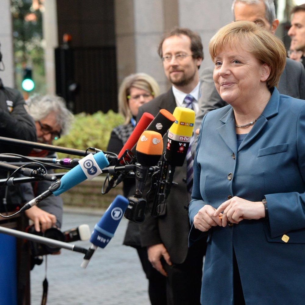 Angela Merkel ist beim Skifahren gestürzt
