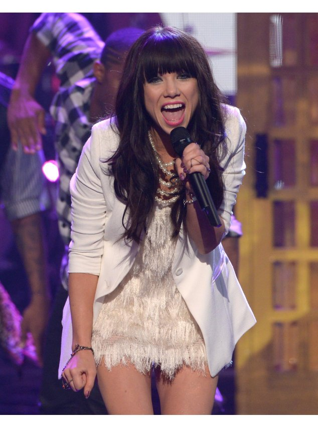 Carly Rae Jepsen bei den American Music Awards