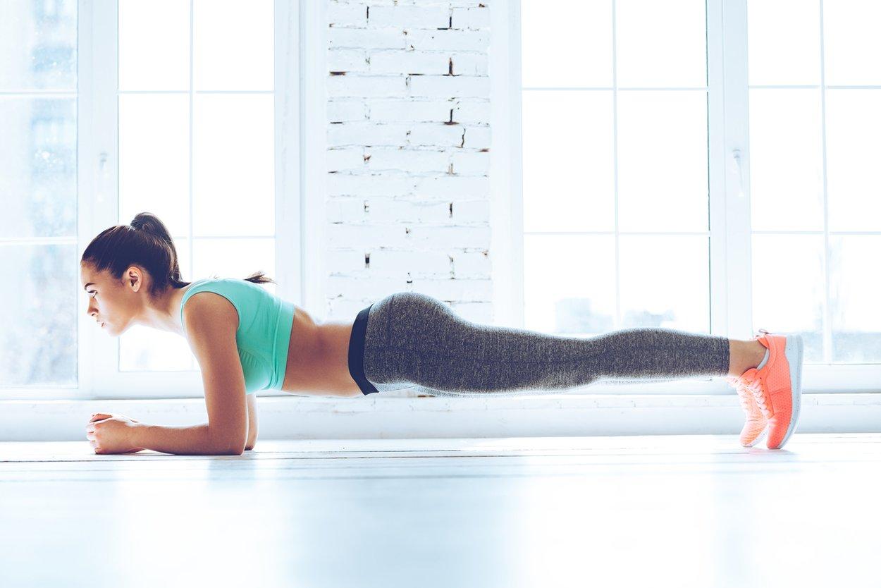 Übungen gegen Hüftspeck Taille