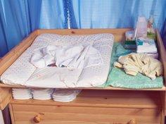 Die Wickelkommode ist das Must Have-Babymöbel.