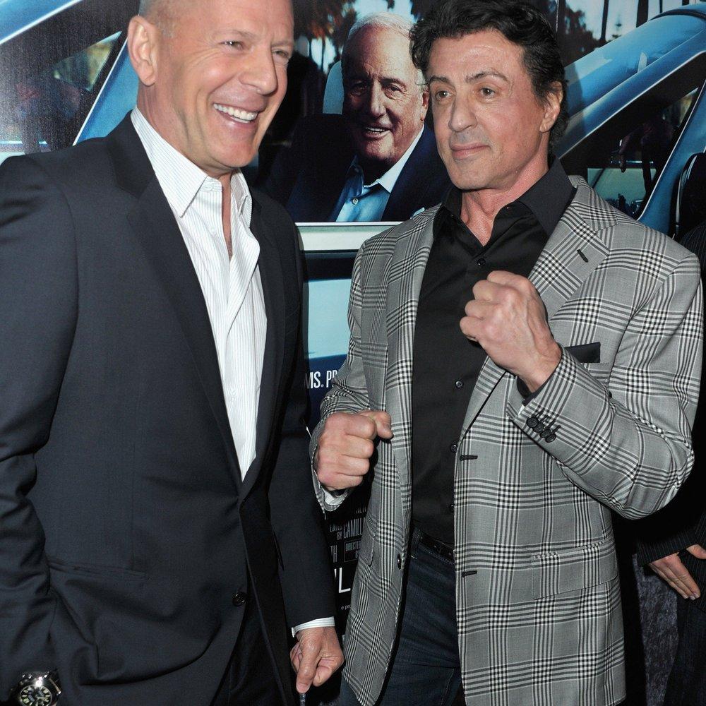 Sylvester Stallone beschimpft Bruce Willis!