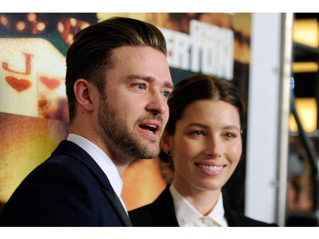 Justin Timberlake und Jessica Biel auf einem der seltenen gemeinsamen Events