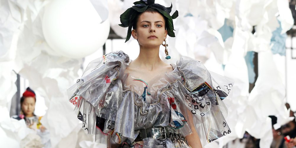 Vivienne Westwood Paris Fashion Week Frühjahr Sommer Kollektion 2019