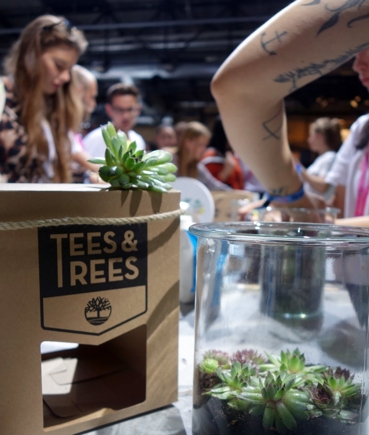 Tees and Trees Workshop Timberland Bread&&Butter 2018