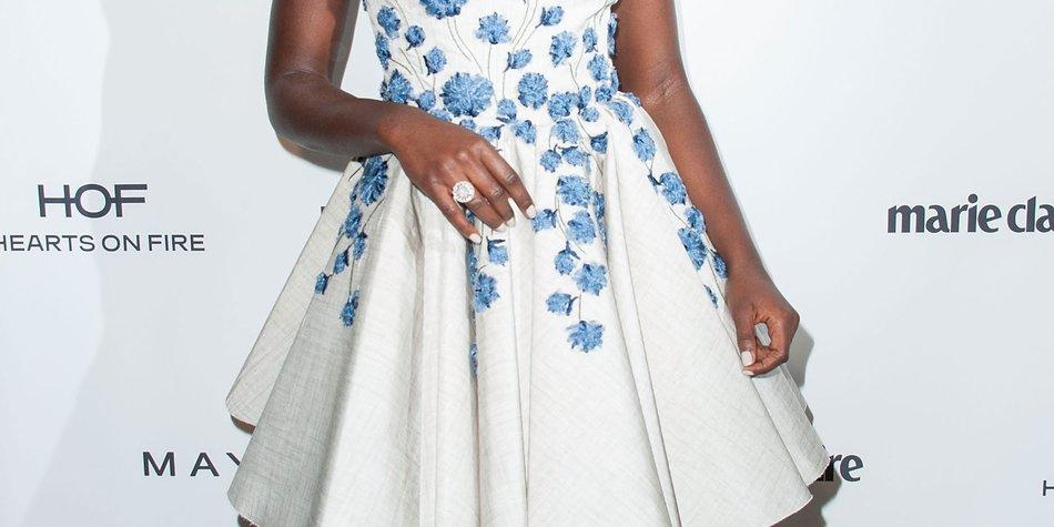 Lupita Nyong'o feiert ihren Covershoot