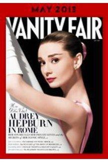 Audrey Hepburn auf dem Cover