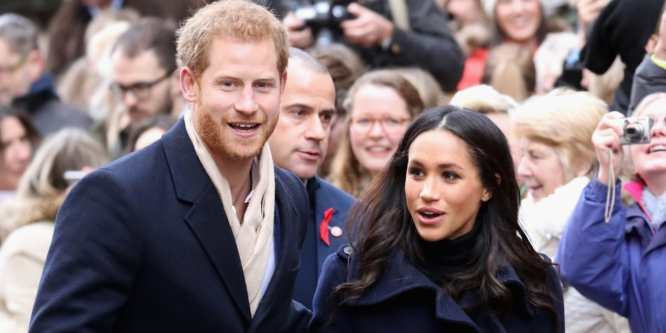 NOTTINGHAM, ENGLAND - DECEMBER 01: Prince Harry and Meghan Markle attends the Terrance Higgins Trust World AIDS Day charity fair at Nottingham Contemporary on December 1, 2017 in Nottingham, England. Prince Harry and Meghan Markle announced their engagement on Monday 27th November 2017 and will marry at St George's Chapel, Windsor Castle in May 2018. (Photo by Chris Jackson/Getty Images)