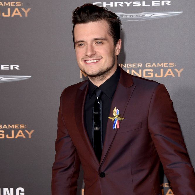 "LOS ANGELES, CA - NOVEMBER 16:  Actor Josh Hutcherson attends the premiere of Lionsgate's ""The Hunger Games: Mockingjay - Part 2"" at Microsoft Theater on November 16, 2015 in Los Angeles, California.  (Photo by Jason Merritt/Getty Images)"