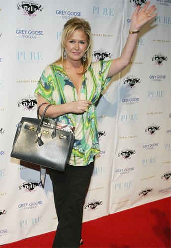 Kathy Hilton mit Birkin Bag