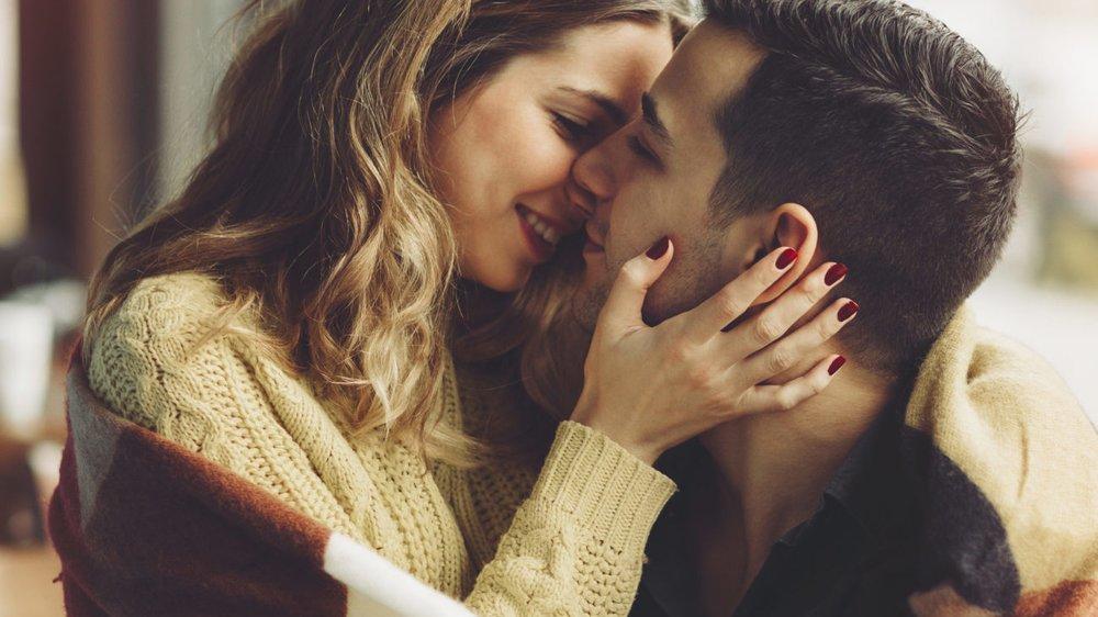 Paar verliebt