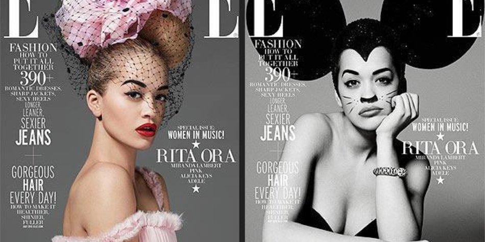 """Rita Ora: Ganz ladylike auf dem Cover der """"Elle"""""""