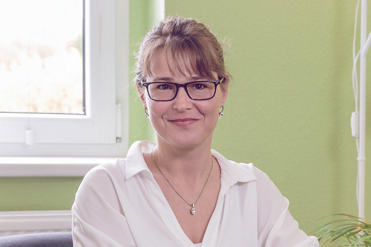Psychologin Sandra Jankowski im desired Interview