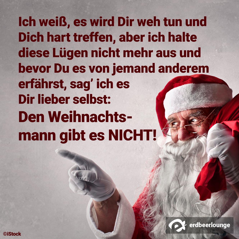 Weihnachten 12 - Weihnachtsmann gibt es nicht