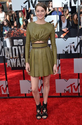 Shailene Woodley bei den MTV Movie Awards
