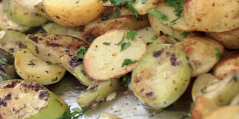 Bratkartoffeln mit Schale