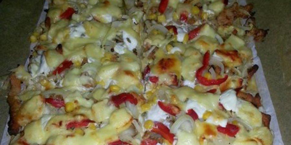 Gyros-Pizza
