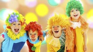 Beim Fasching im Kindergarten ist Spaß vorprogrammiert-