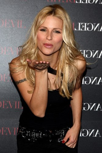 Moderatorin Michelle Hunziker beim Launch eines Parfums
